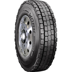 4 New Cooper Work Series Awd 295/75r22.5 Load G 14 Ply Drive Commercial Tires