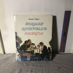 Vintage 1976 Readers Digest Edition Norman Rockwells America Coffee Table Book