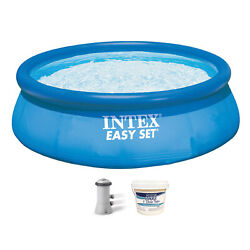 Intex 28131eh 12ft X 30in Swimming Pool With Filter Pump And 3in Chlorine Tabs