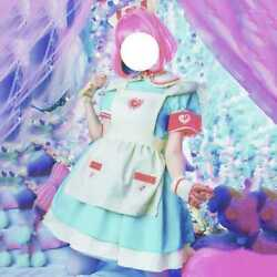Idol Master Dreaming Nurse Clothes Maid Cosplay Costume