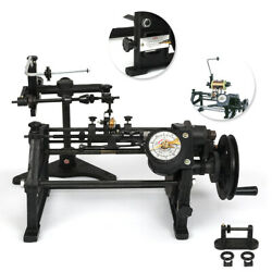 Coil Winder Nz-2 Hand-operated Winding Machine Pointer Counting 0-2499 Manual