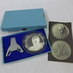 1974 Maco 38th President Gerald Ford 999 Silver Inaugural Proof Medal 2.5 1732