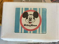 Vintage Mickey Mouse Childrens Record Player  Model 171.29150600 Needs Needle