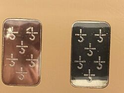 Johnson Matthey Blue Oyster Cult Concec Silver Bars