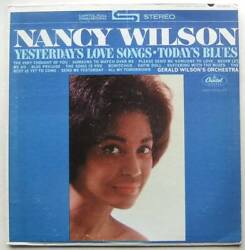 Nancy Wilson Yesterday Love Songs Today Blues Capitol St2012 Color