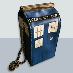 Very Rare Doctor Who Crossbody Prototype Bag With 11th Doctor Funko Pop Keychain