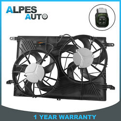 Radiator Cooling Fan For Buick Enclave Chevy Traverse Gmc Acadia Saturn Outlook