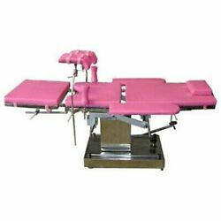 4 Section Hydraulic Delivery Table Hi-low U-cut Lithotomy Pads Hand Rests