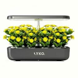 Lyko 12pods Indoor Herb Garden Kit, Hydroponics Growing System With Led Grow...