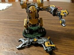 Warhammer 40k Ork Deff Dread Well Painted With Bits