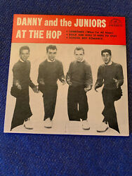 Danny And The Juniors At The Hop Ultra Rare Mint Ep