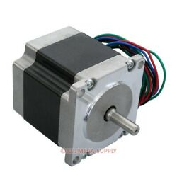 57x56mm 1.24nm Nema23 Stepping Motor 2-phase 4-lead For Cnc Router Lathe Milling