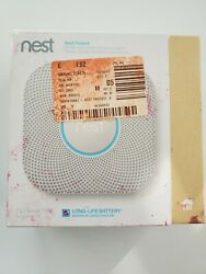 Brand New In Box Sealed Nest Smoke And Monoxide Alarm S3000bwes