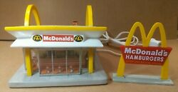 Mcdonalds Mcmemories Look For The Golden Arches Ceramic Lighted Sculpture 1997