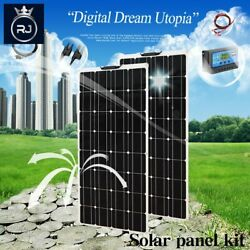 Solar Panel Kit Complete 600w Photovoltaic Panels Cmplete Cell Power Generator