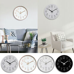 12quot; Silent amp; Large Wall Clocks For Living Room Office Home Decor Modern Style