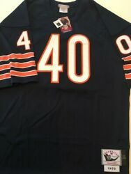 mitchell And Ness Gale Sayers 40 1970 Throwback Jersey Size 52 Chicago Bears