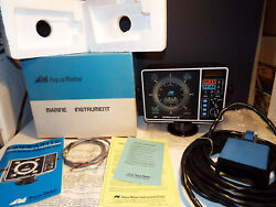 Aqua Meter Graduate 301 Flasher Style Depth Fish Finder Computer Controlled Lcd