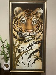 ⭐⭐⭐picture Of Amber Tiger Hand Made⭐⭐⭐