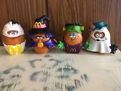 Mcdonalds Happy Meal Halloween Mcnugget Buddies Set Of 4 Out Of 6 1992