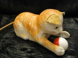 Vintage Toys 1960's- Marx Toys Hong Kong Wind Up Cat
