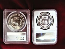 1994 S World Cup Pf70 Ultra Cameo 1994 D World Cup Ms70 Graded By Ngc And Pcgs