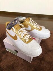 Nike Air Force 1 Low Supreme Gold Medal 516630-170 Ds Size 10