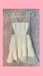 Bcbg Maxazria New With Tags Adriana White Dress Size 2 Bought For 338