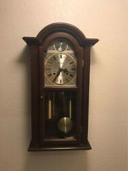 Waltham - Antique Tempus Fugit 31 Day Chime Clock With Key
