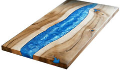 Blue Olive Custom Epoxy Table Furniture Resort,dining Decorative Made To Order