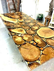 Rivertable Coffee Dining Confrence Table Epoxy Resin Table Handmade Unique Decor