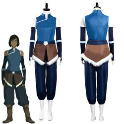 The Legend Of Korra Cosplay Costume Outfits Halloween Covention Party Suit