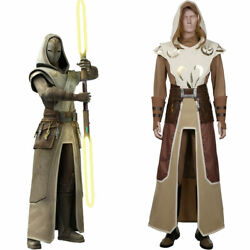 Star Wars The Clone Wars-jedi Temple Guard Outfits Halloween Convention Costume
