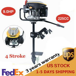 4 Stroke 9.0hp Outboard Motor Boat Engine Fishing Boat Engine Air Cooling System