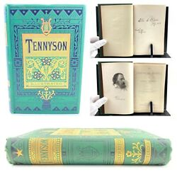 The Poetical Works Of Alfred Tennyson, Poet Laureate, Illustrated, Inscribed