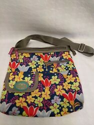 Lily Bloom Eco Friendly Green Living Satchel Bags Birds $15.99