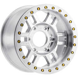 4-17x9.5 Machined Wheel Vision Manx Competition Forged 398 5x5.5 26