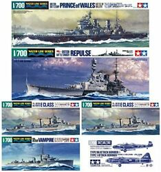 Tamiya 1/700 Waterline Murray Offshore Battle Set Plastic Model With Commentary