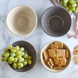 Pampered Chef Small Stoneware Serving Bowl Set Free Shipping