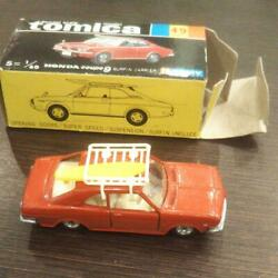 Tomica Black Box Minicar 49 Honda Coupe Surfing Careers