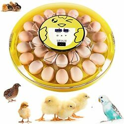 30 Eggs Incubator, Automatic Clear Egg Incubator For Hatching Chickens Pheasant