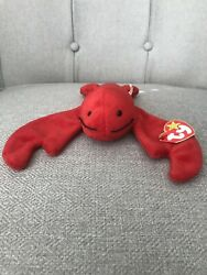 Pinchers The Lobster Ty Beanie Baby 1993