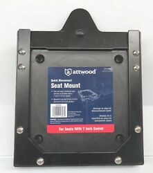 Attwood 11603d1 Universal Quick Disconnect Seat Mount Fits 7 Swivel Plate