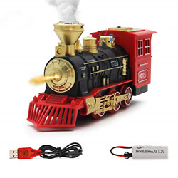 Hot Bee Electric Toys Train Steam Locomotive Engine - Usb Charging Electric Toy