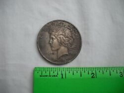 1922 Peace Silver One Dollar, 2of2,liberty,in God We Trust,united States America