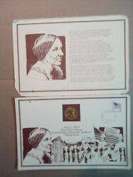 Original Susan B Anthony-first Day Issue-united States Dollar Coin. Gold Plated