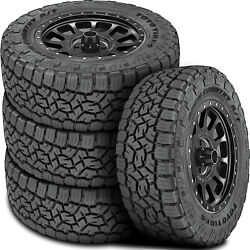 4 New Toyo Open Country A/t Iii Lt 35x12.50r20 Load F 12 Ply At All Terrain Tire