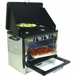 Camp Chef Outdoor Patio Camping Camp Stove Oven Propane 2 Burner 7500 Btu
