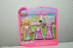 Character Playmobil La Party Berbecue Of Lena New Edition Limited And Holding