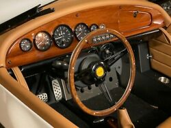Classic Mahogany Wood Dashboard And Console For Vanderhall Carmel - Made In Usa